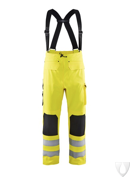 1302 Blåkläder Regenbroek High Vis Level 2