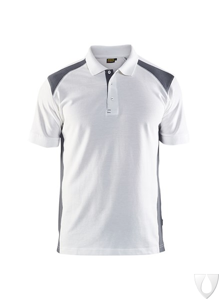 3324 Blåkläder Poloshirt Piqué