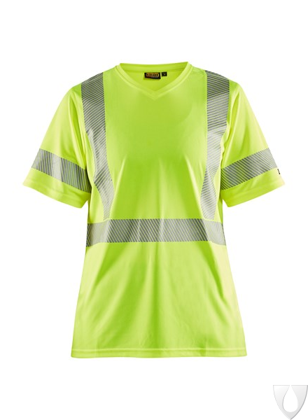 3336 Blåkläder Dames T-Shirt High Vis