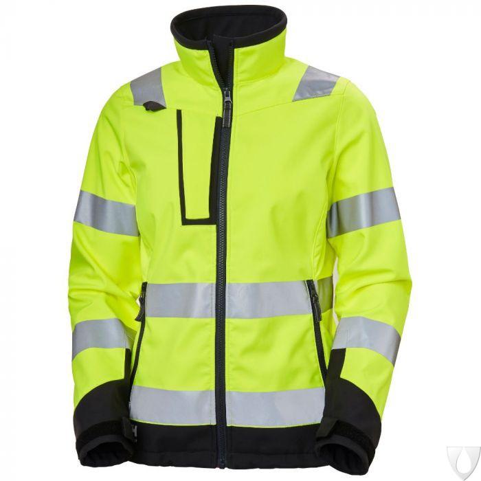 Helly Hansen Luna Hi Vis Softshell Jacket 74098