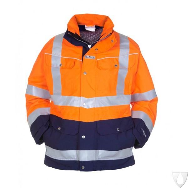 04021597P Hydrowear Parka Frankfurt Simply No Sweat EN471 Bicolour (Orange or Yellow)