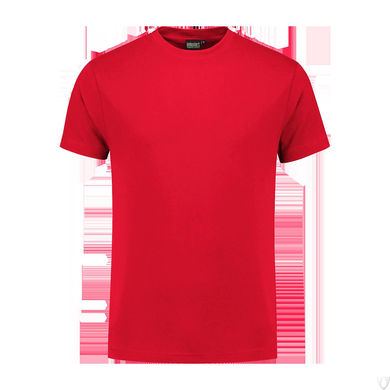 TO180 Indushirt T-Shirt 100 kat Rood