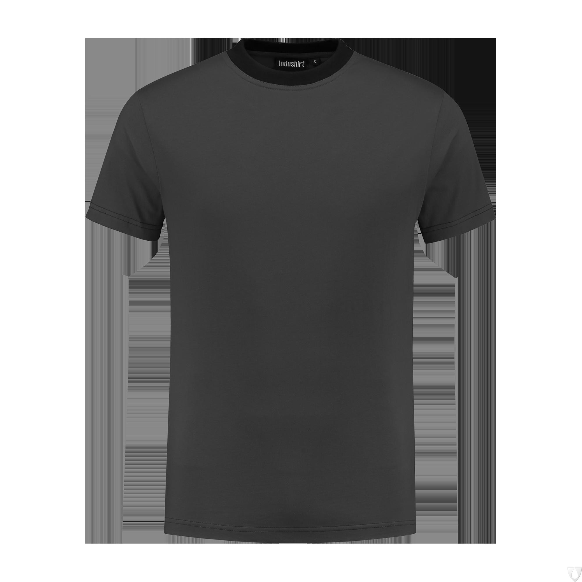 TO180 Indushirt T-Shirt 100 kat Antraciet