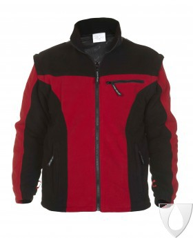 04026014 Hydrowear Polar Fleece Keulen Red/Black