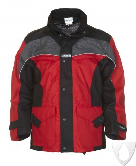 04026014P Hydrowear Parka Keulen Simply No Sweat Red/Black