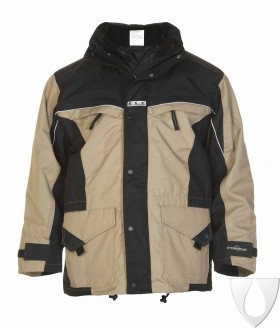 04026028P Hydrowear Parka Kleve Simply No Sweat Kahki/Black