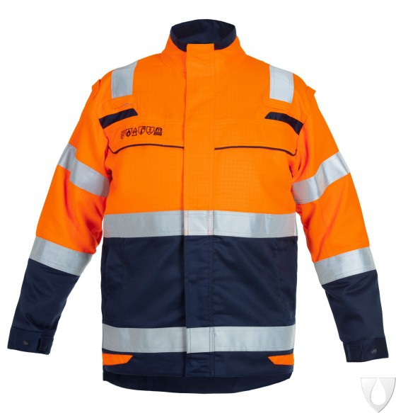 043497 Hydrowear Milford/Medina Jacket Multi Venture Line High-Vis