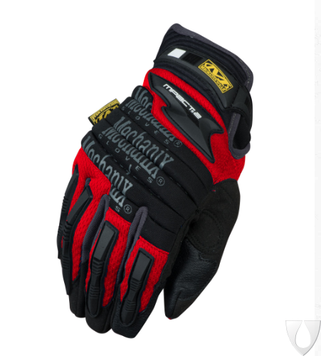 Mechanix Handschoen M-Pact 2 Red MP2-02