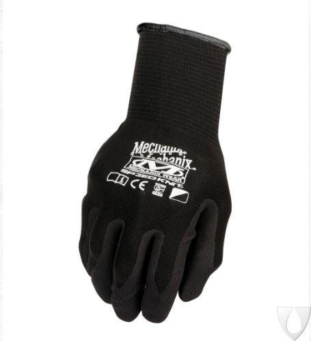 Mechanix Handschoen Knit Nitrile Black S1DE-05