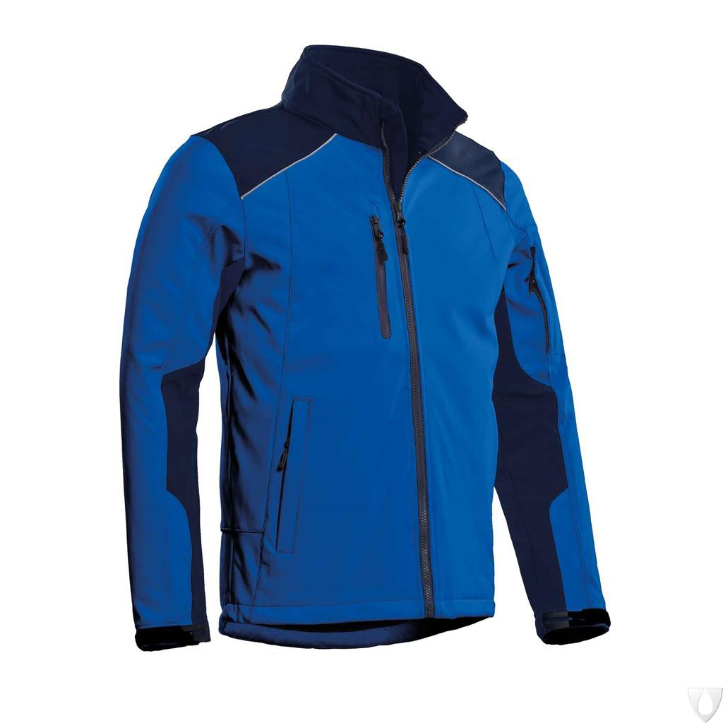 CBS - Softshell Jacket Tour Royal blue/navy