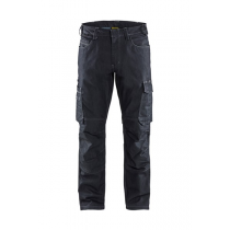 1439 Blåkläder Service Werkbroek denim stretch Marineblauw