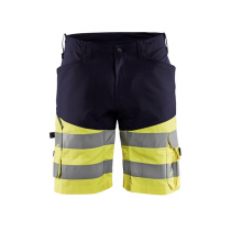 1541 Blåkläder short met stretch High Vis