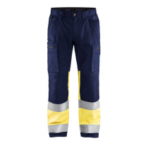 1551 Blåkläder Werkbroek Met Stretch High Vis