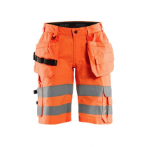 1586 Blåkläder short met stretch High Vis