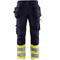 1994 Blåkläder werkbroek met stretch High vis