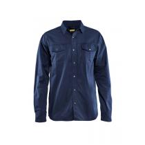 3297 Blåkläder Overhemd Twill