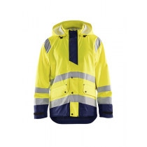 4323 Blåkläder High Vis Regenjas Level 1