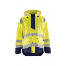 4327 Blåkläder Regenjas High Vis Level 3