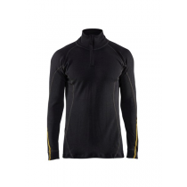4796 Blåkläder FR overhemd zip-neck 80% merino