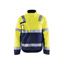 4862 Blåkläder Winterjas High Vis