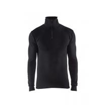 4891 Blåkläder Onderhemd Met Rolkraag En Rits Warm