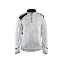 4943 Blåkläder Gebreid sweatshirt 1/2 rits