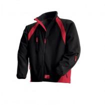 69007 Redwing Softshell Jacket zwart/rood