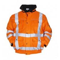 047455 Hydrowear 4in1 Jacket Beaver Aberdeen EN471 RWS (Orange or Yellow)