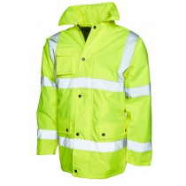 Uneek UC803 Road safety jacket HI-VIS orange/yellow