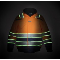 Hydrowear GLOW IN THE DARK Pilotjack India Hi-Vis/Navy EN20471(Orange or Yellow)