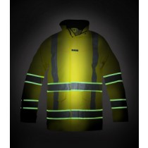 Hydrowear GLOW IN THE DARK Parka Italië Hi-Vis RWS(yellow or orange)