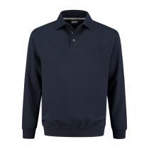 PSW300 Indushirt Polo-Sweater 60/40 kat/pol Marine