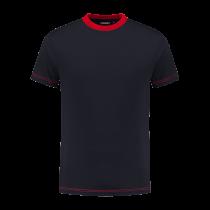 TS180 Indushirt T-Shirt 100 kat Marine/Rood