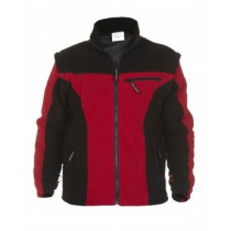 04026014 Hydrowear Polar Fleece Keulen Red/Black