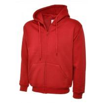 Uneek UC504 Classic full zip hooded sweatshirt div. kleuren